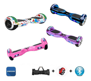 Hoverboard 6 Led Skate Electrico Overboard Bluetooth Barato