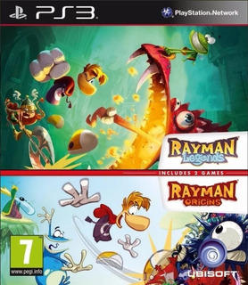 Rayman Legends Y Origins Ps3 - Play Mexico
