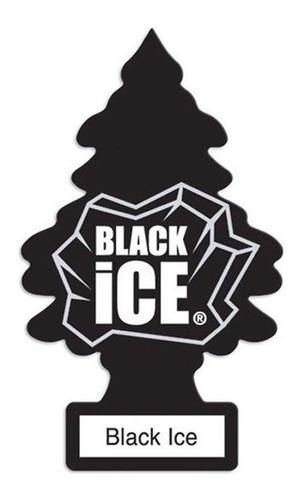 Pack 15 - Aromatizante Automotivo Little Trees Black Ice