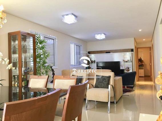 Apartamento Com 3 Dormitórios À Venda, 139 M² Por R$ 1.061.000,00 - Jardim - Santo André/sp - Ap7797