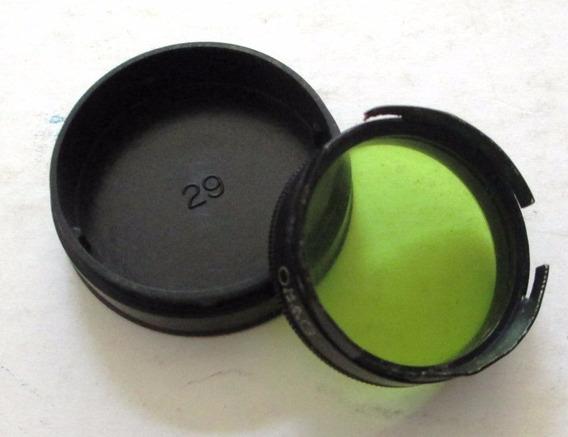 474 Filtro Fotográfico Omag 28 Amarelo 3 Cm De Diametro, Su