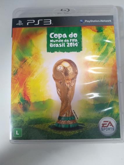 Jogo Ps3 Copa Do Mundo Fifa Brasil 2014