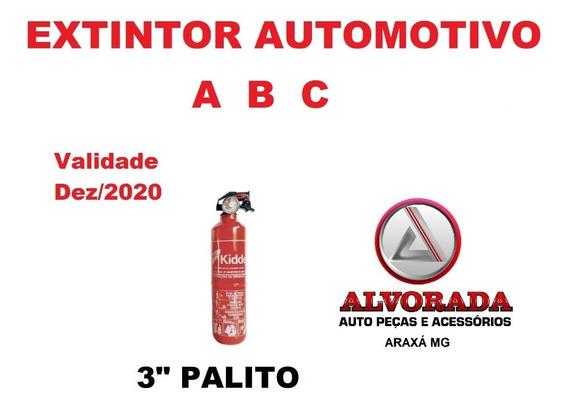 Extintor Automotivo Abc Palito 3 Val 12/2020 Kidde Opala