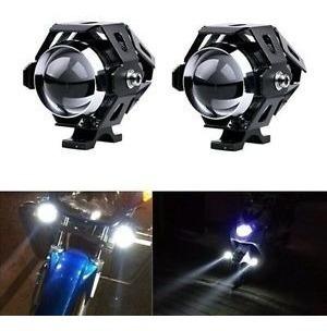 Par Neblineros Moto Led Tipo Xenon 15w Con Soporte Outletnet