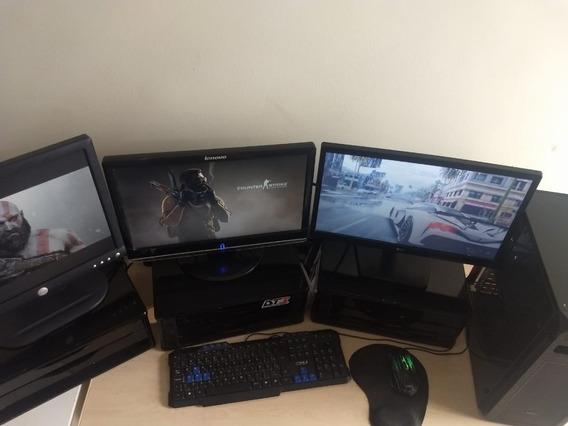 Computador Pc Gamer 3 Monitores