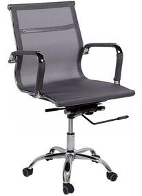 Cadeira Escritório Charles Eames Telinha Diretor Tela