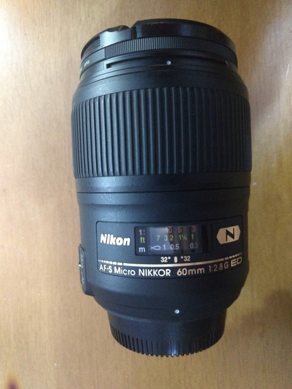 Lente Nikon Af-s 60 Micro F 1:2.8g Ed