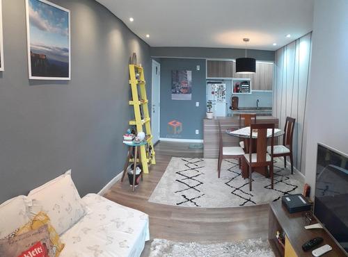 Imagem 1 de 27 de Apartamento À Venda, 3 Quartos, 1 Suíte, 1 Vaga, Metalúrgica - Santo André/sp - 99370