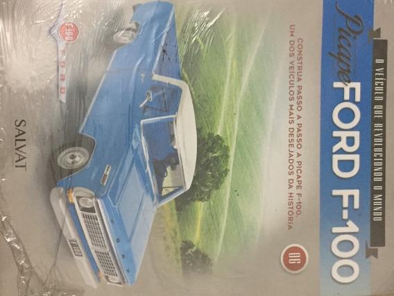 Fascículo Coleção Salvat Picape Ford F100 F-100 Número 06