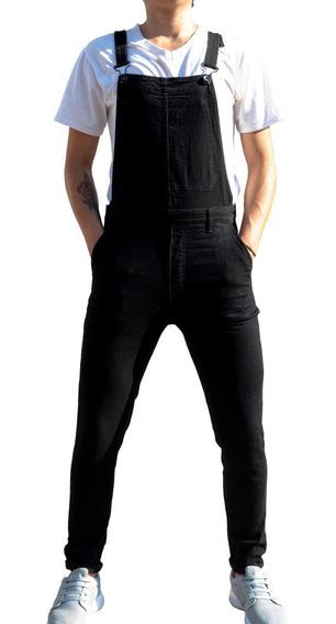 Pantalón Overol Para Hombre En Denim 5 Bolsas Envío Gratis