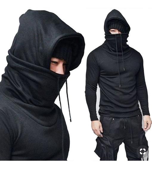 Sudadera Hombre Caballero Hoodies Japonesa Ninja Cubreboca