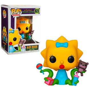 Funko Pop Simpsons Alien Maggie 823 Nuevo Original En Stock