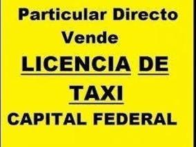 Licencia De Taxi En Venta
