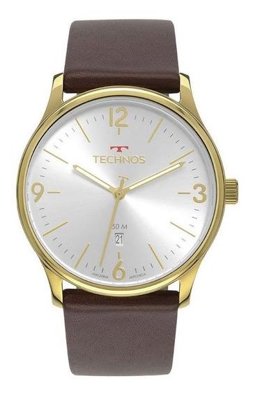 Relógio Technos Steel Masculino Analógico 2115mup/2k