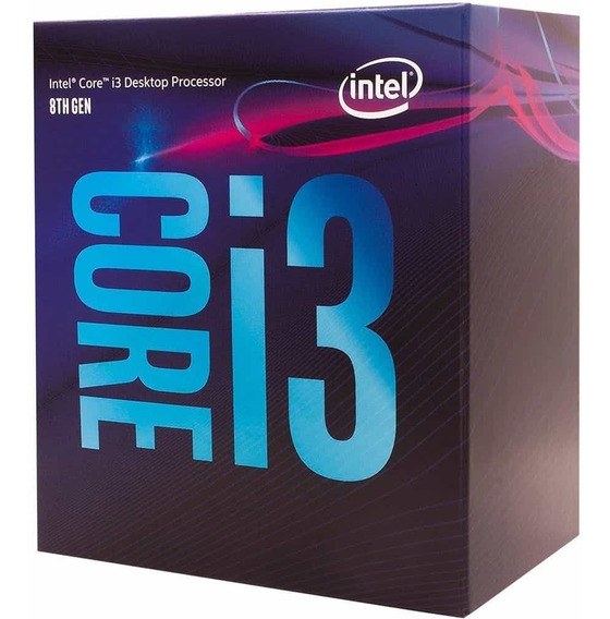 Processador Intel I3 8100 Coffee Lake - Bx80684i38100