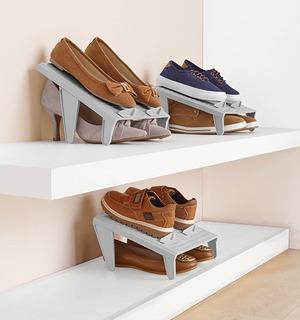 Organizador De Zapatos 2 Piezas Para 4 Pares
