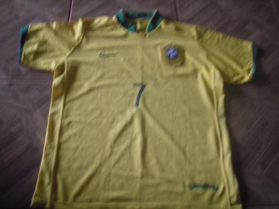 Camisa Da Seleção Brasil Adriano