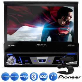 Dvd Top Pioneer Avh-x7880tv Com Tv Digital E Controle + Nfe