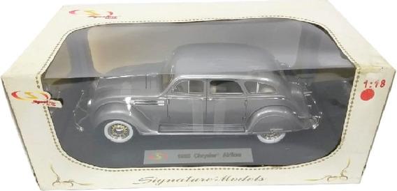 1936 Chrysler Airflow Abre 4 Portas Signature Escala 1/18
