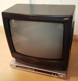Leve A Tv Sharp 14 E Ganhe O Dvd Player Philips