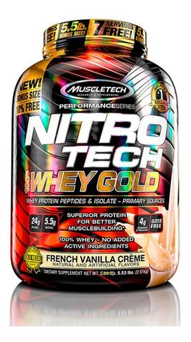 Nitrotech Whey Gold 5.5lb - Muscletech