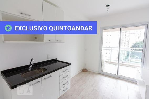 Apartamento No 8º Andar Com 1 Dormitório E 1 Garagem - Id: 892962382 - 262382