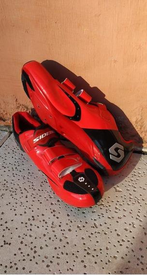 Zapatillas De Ciclismo De Ruta Sidebike