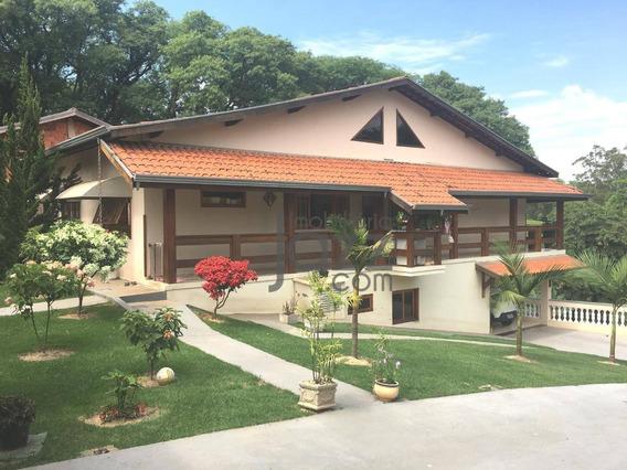 Chácara Com 3 Dormitórios À Venda, 1537 M² Por R$ 800.000 - Vale Verde - Valinhos/sp - Ch0081