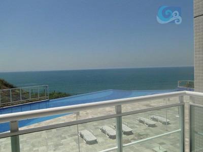 Apartamento À Venda - Condomínio Penhasco Das Tartarugas - Guarujá - Ap4242
