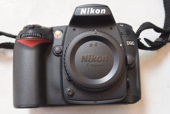Nikon D 90 - Corpo - 5.000 Mil Cliks