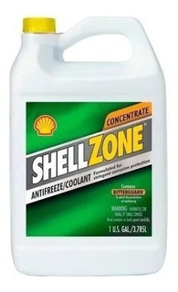 Refrigerante Shell Zone Color Verde 50/50 (10 X Galón)