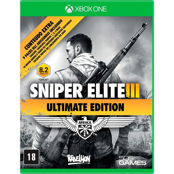 Game Xbox One Sniper Elite 3 Ultimate Edition - Original