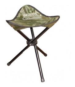 Cadeira Banqueta Dobrável Camuflada Xd-31 Marine Sports