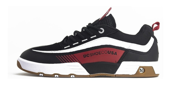 Tenis Dc Shoes Legacy 98 Slim Imp Black/red/whiteOriginal