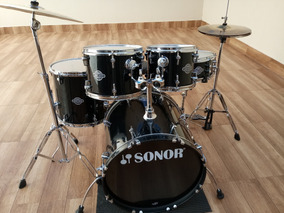 Bateria Sonor Smart Force Super Conservada, Inclui Ferragens