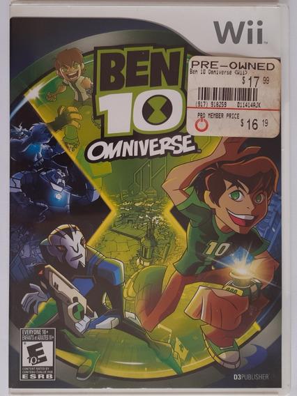 Ben 10 Omniverse Wii Mídia Física