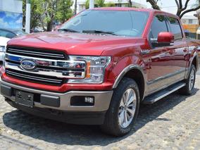 Ford Lobo 2018 Lariat 4x4 Rojo