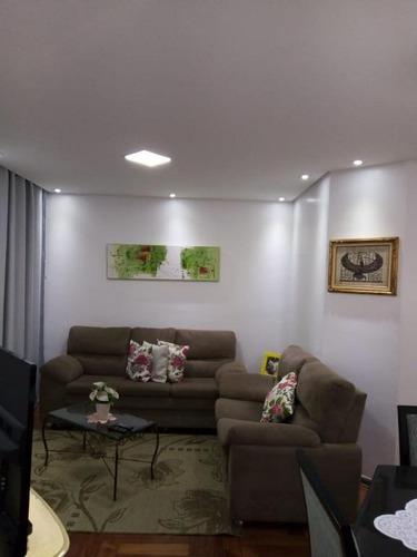 Apartamento Com 3 Dormitórios À Venda, 66 M² Por R$ 410.000,00 - Mandaqui (zona Norte) - São Paulo/sp - Ap8725