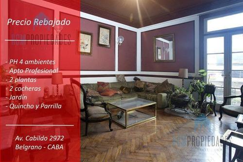 Imagen 1 de 17 de Venta Ph 4 Ambientes Belgrano