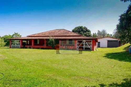 Chácara Com 2 Dormitórios À Venda, 30 M² Por R$ 650.000 - Porangaba - Porangaba/sp - Ch0009