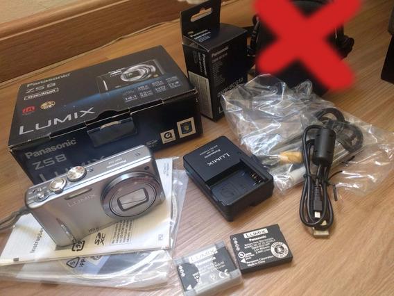 Panasonic Lumix Zs8 2 Baterias Lente Leica