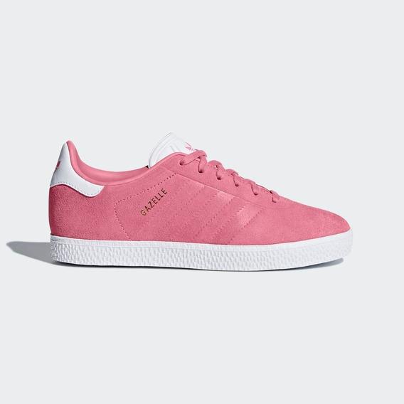 Tenis adidas Originals Gazelle Rosa Dama 2018