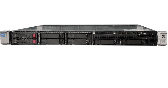 Servidor Hp Dl360e G8 02x Xeon Octa 24gb Ecc 480gb Ssd