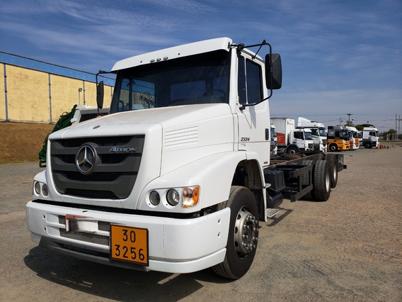 Mercedes-benz Atron Mb 2324 6x2 Chassi 2012 / Financiamos