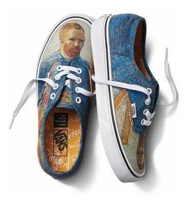 Zapatillas Vans X Museo De Van Gogh