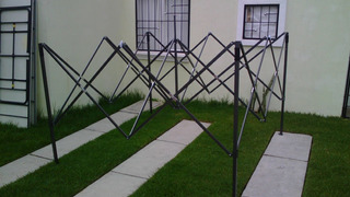 Estructura Plegable 3x3 No Incluye Lona