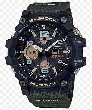 Relogio Casio G-shock Mudmaster Gsg100-1a3 Garantia 02 Anos
