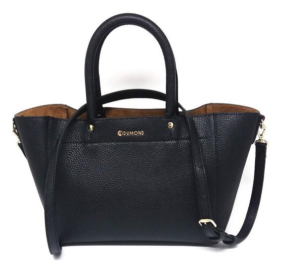 Bolsa Feminina Dumond Tote Cor Preta - Li & Ca 485053
