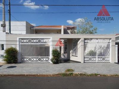 Casa Residencial Para Locação, Jardim Bela Vista, Americana. - Ca1802