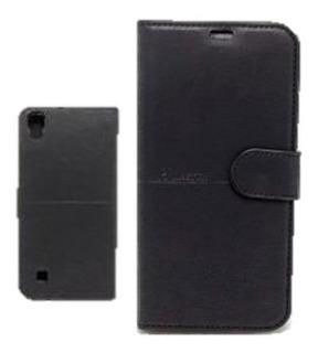 Capa Case Carteira Flip Lg X Power Preto